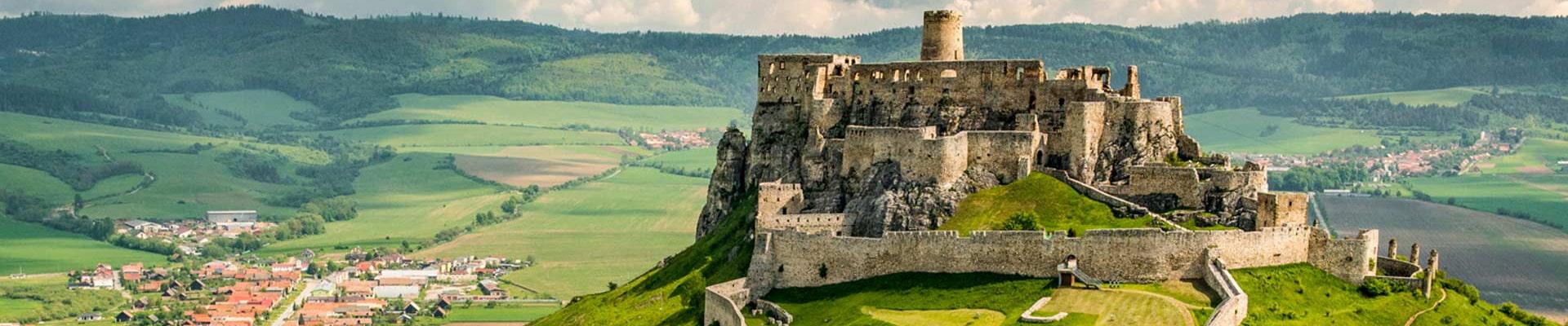 Словакия замок