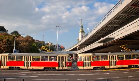 трамвай словакия
